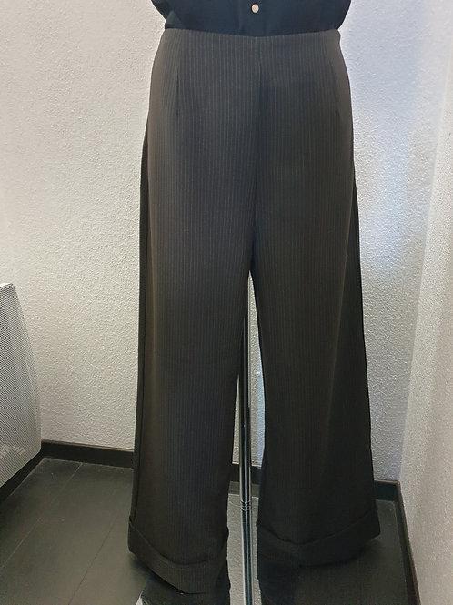 Pantalon Marron LA FEE MARABOUTEE