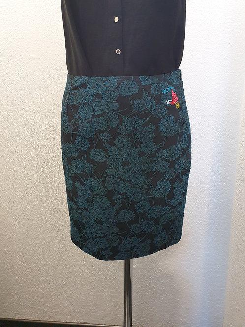 Jupe courte noir/bleu AVENTURES