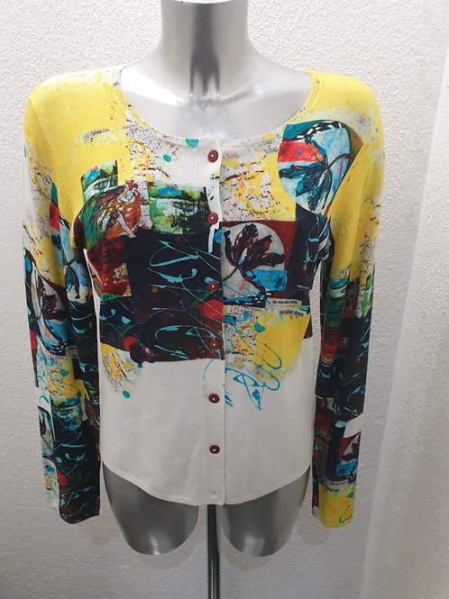 Cardigan multicolor AVENTURES DES TOILES