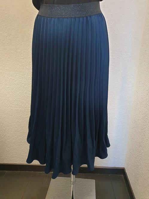 Jupe plissée bleue BARILOCHE