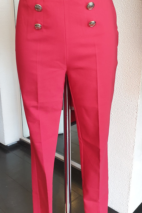 Pantalon rouge MORGAN