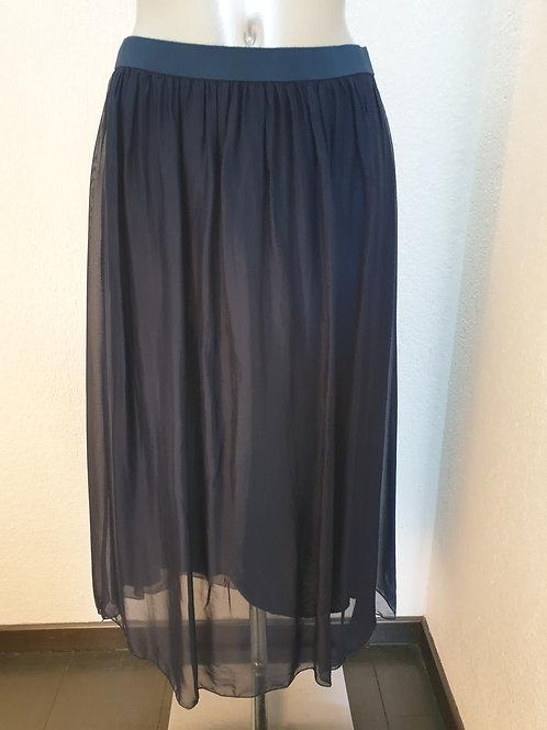 Jupe longue bleu marine -