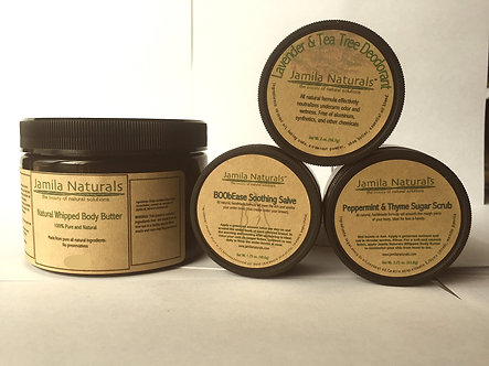 Body Care Bundle by Jamila Naturals