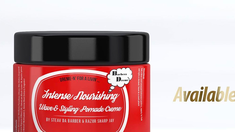 Nourishing Wave & Styling Pomade Creme