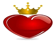 Crowned Heart of Excellence