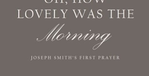 OH, HOW LOVELY WAS THE MORNING (Piano Solo/MP3)