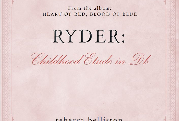 CHILDHOOD ETUDE IN Db: RYDER (Piano Solo)