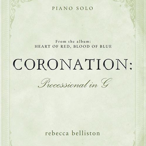 PROCESSIONAL IN G: CORONATION (Piano Solo/MP3)