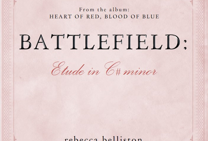 ETUDE IN C# MINOR: BATTLEFIELD (Piano Solo)
