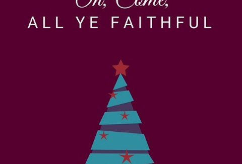 OH, COME, ALL YE FAITHFUL (Piano Duet)