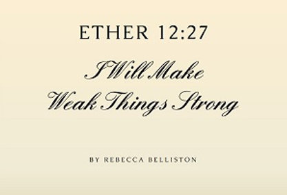 I WILL MAKE WEAK THINGS STRONG (Vocal Solo - Men's)