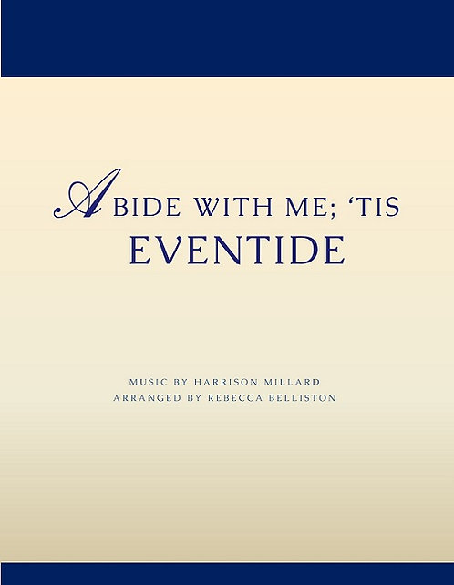 ABIDE WITH ME; 'TIS EVENTIDE (Piano Solo)