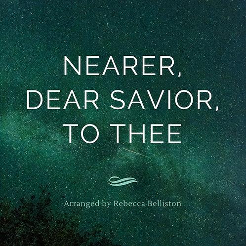 NEARER, DEAR SAVIOR, TO THEE (Piano Solo/MP3)