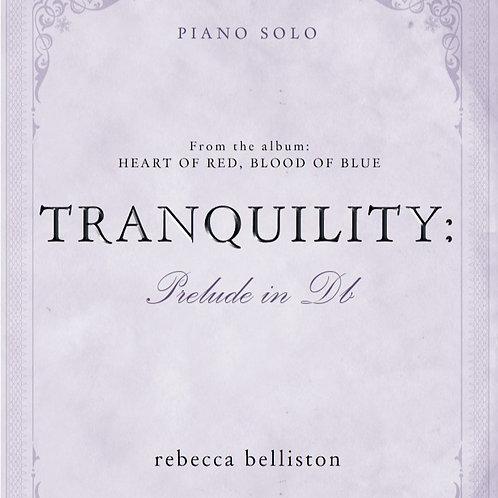 PRELUDE IN Db: TRANQUILITY (Piano Solo/MP3)