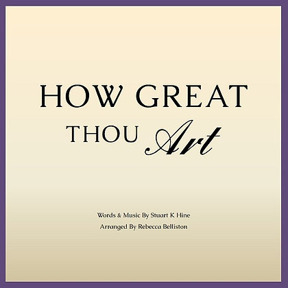 HOW GREAT THOU ART (Accompaniment Track in Bb)
