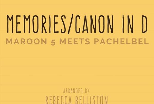 MEMORIES/CANON IN D (Piano Solo)