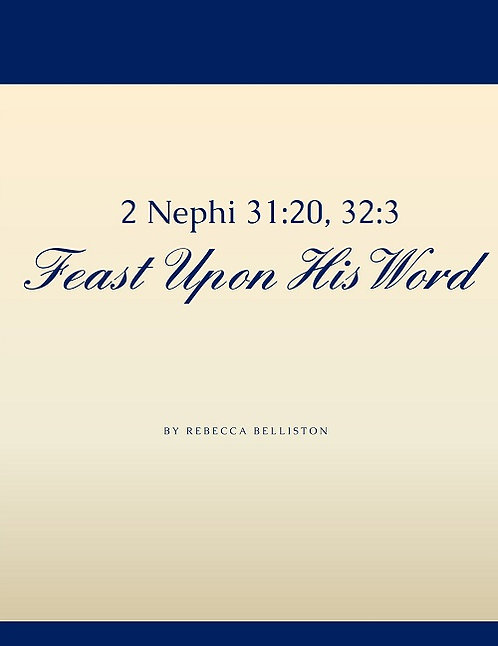 FEAST UPON HIS WORD (SSAA)