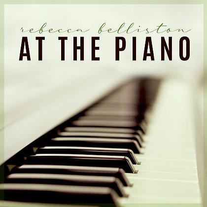 AT THE PIANO (Piano Solo Album)