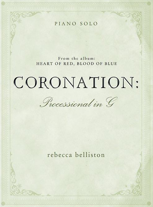 PROCESSIONAL IN G: CORONATION (Piano Solo)
