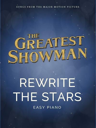 REWRITE THE STARS (Easy Piano)