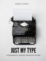 Vintage Black and White Typewriter Poste