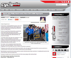 6/10/13 CycleOnline Article
