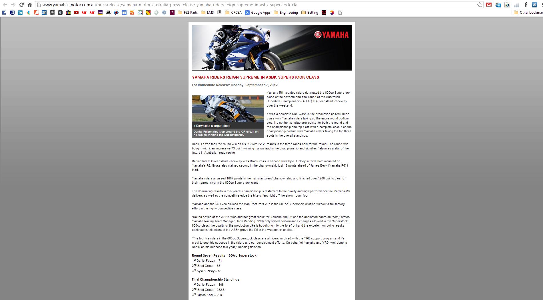 2012-09-17 Yamaha Motor Australia