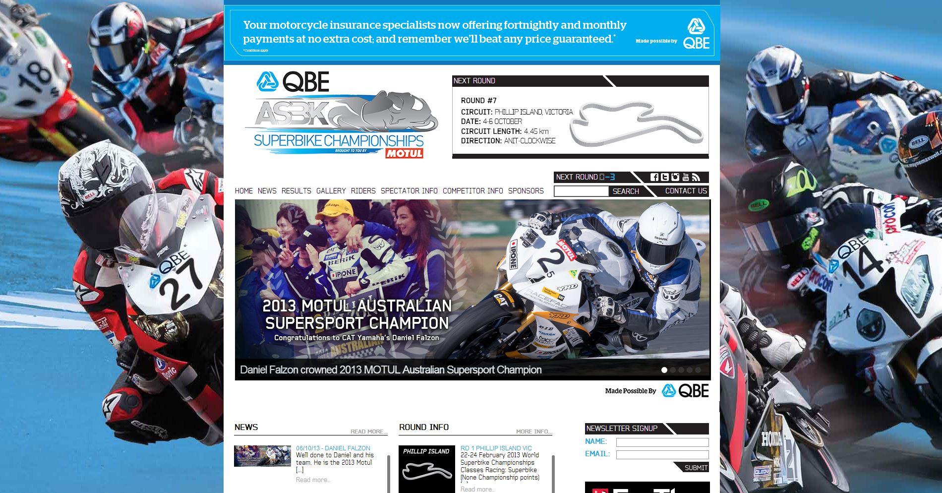 2013-10-06 ASBK Homepage