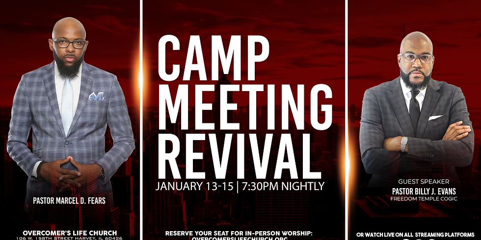 Camp Meeting Revival (Friday)