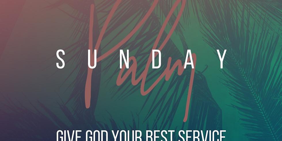 Palm Sunday Service (11AM)