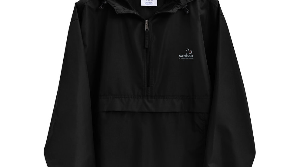 Sani360 Embroidered Champion Packable Jacket