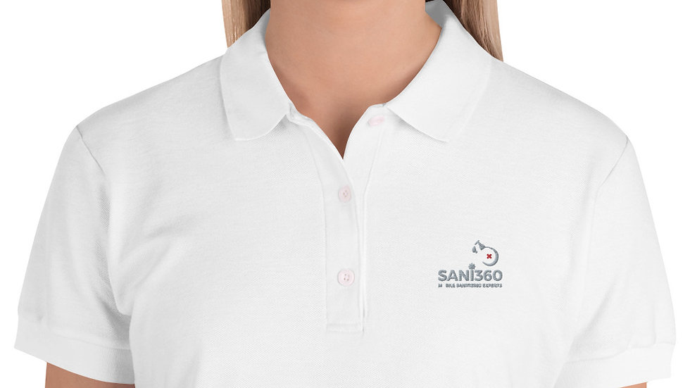 Sani360 Embroidered Women's Polo Shirt