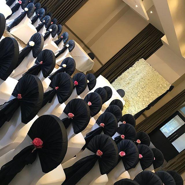 Navy and pink wedding _bedfordlodgehotel