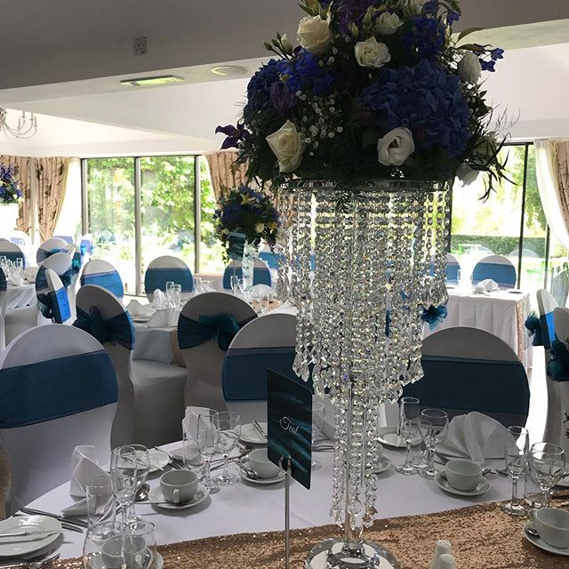 Our stunning chandeliers at the riversid