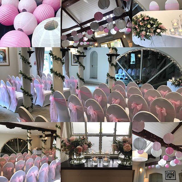 Beautiful baby pink wedding _quymillhote