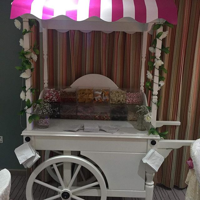 Our lovely sweet cart out with the pink