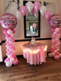 Collumn Balloon Arch