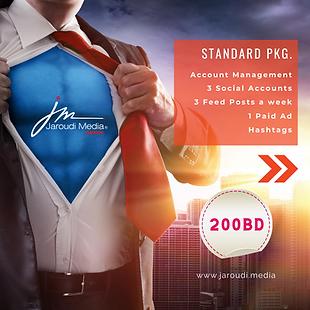 standard package social media