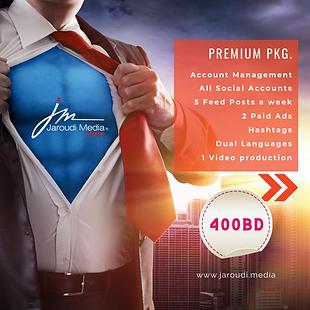 premium package social media