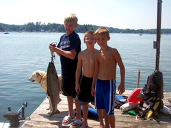 Fishing at Turtle Cove Resort
