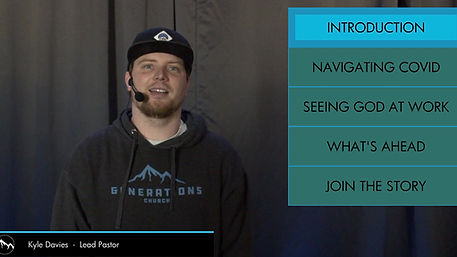 Hear an update from Generations Church Lead Pastor, Kyle Davies
