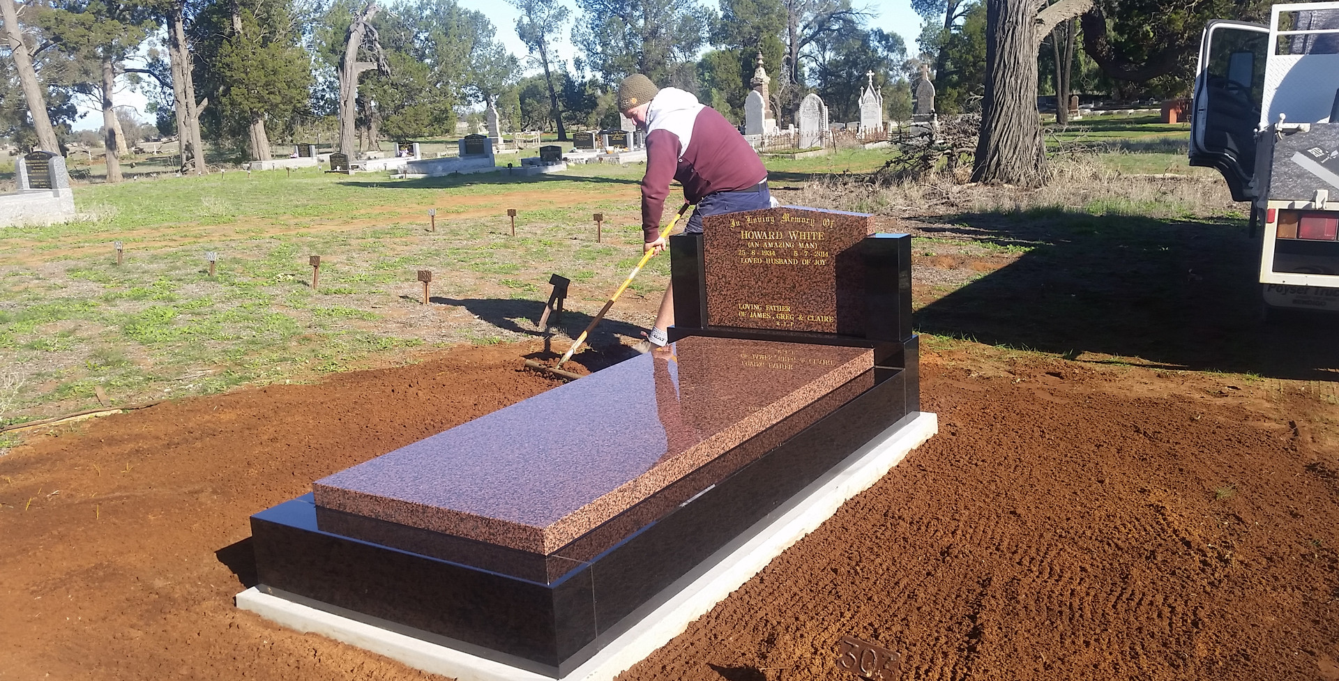 Black kerbs calca headstone & slab.jpg