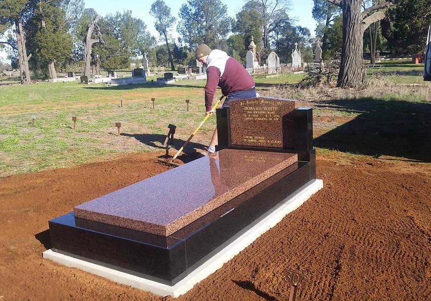 Black kerbs calca headstone & slab.jpg
