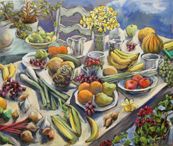 Abundance, Oil on canvas, 2011