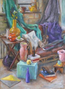 UNH Still Life, Oil on canvas, 2009