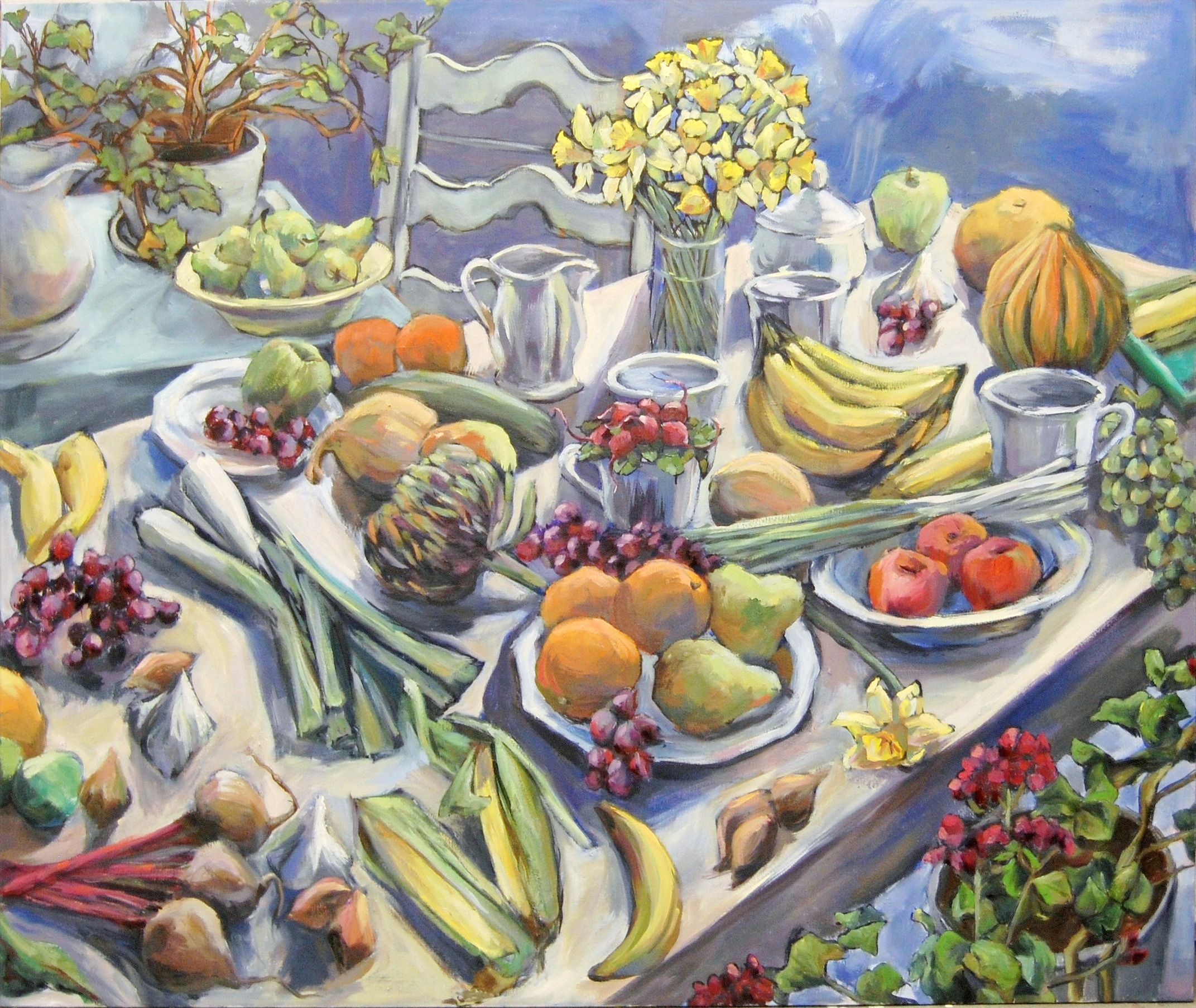 Abundance, Oil on Canvas, 2011