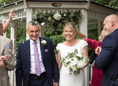 Kent Wedding photographer at The Blue Pigeons Hotel in Worth, Deal