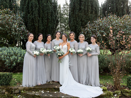 The most beautiful bridesmaids and their bride!