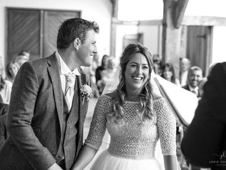 The wedding of Mr and Mrs Williams- Jodie Donovan Photography at Winters Barns, Canterbury
