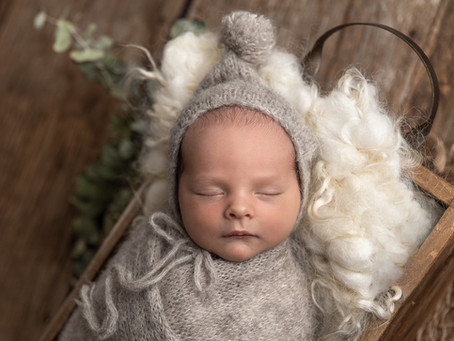 Baby Isaac- Newborn baby photographer in the comfort of your own home